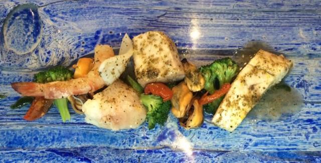 DANI Maison, grigliata ... di pesce