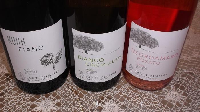 Altri vini di Santi Dimitri