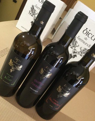 I tre vini aziendali