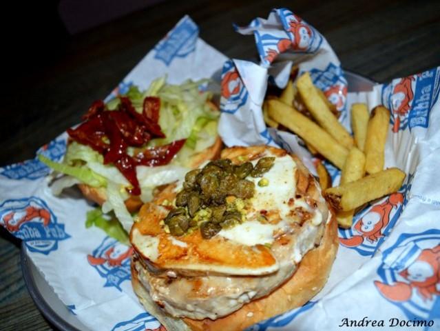 Bubba Pub a Pozzuoli. Lo SwordFish Burger