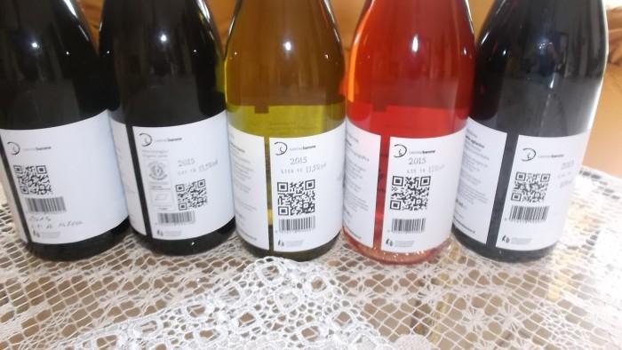 Cantine Barone Controetichette vini nuove annate