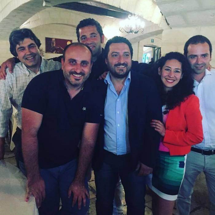 Ciro Revolution: da sinistra, Francesco de Franco, Cataldo Calabretta, Francesco Scilanga, Cristian Vumbaca, Mavi Pena e Francesco Scala