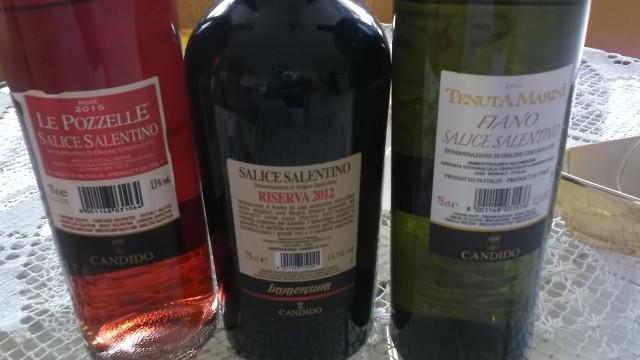 Controetichette Vini di Candido