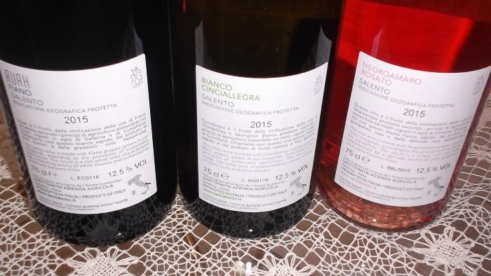 Controetichette di altri vini di Santi Dimitri