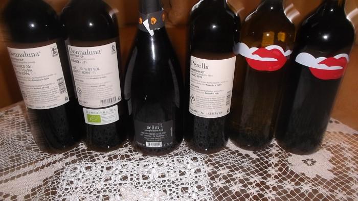 Controetichette nuove annate vini di De Conciliis
