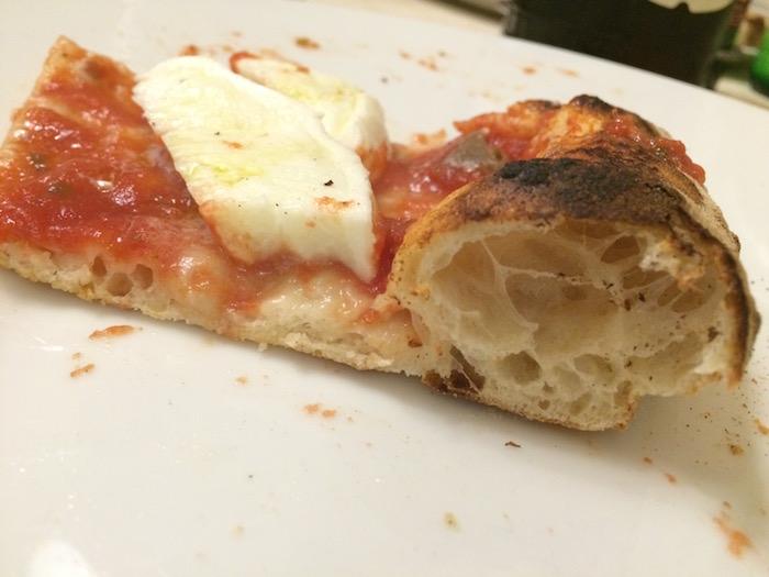Pizzeria Vecchio Gazebo, Cottura della Pizza