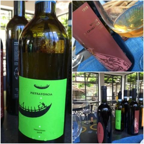 Pietratorcia, i vini