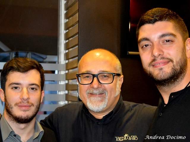 Da Gigione ci sta... Bruno Carilli! Andrea Docimo, Bruno Carilli e Gennaro Cariulo