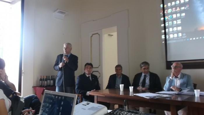 E' Tempo di Aglianicone Saluti del sindaco di Torchiara avv. Massimo Farro