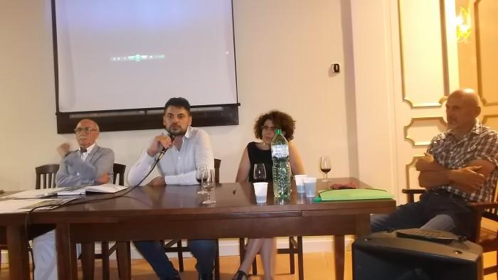E' tempo di Aglianicone I produttori Ciro Macellaro, Paola De Conciliis e Mario Donnabella