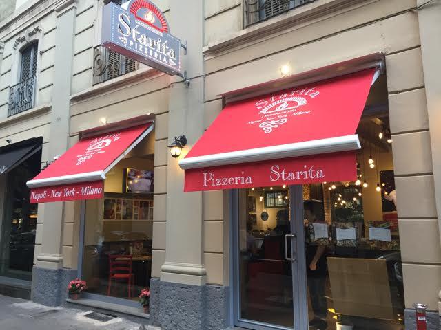 Pizzeria Starita, Esterno
