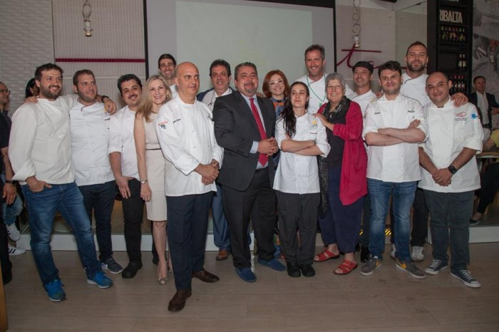 Giuseppe Di Martino and Chefs
