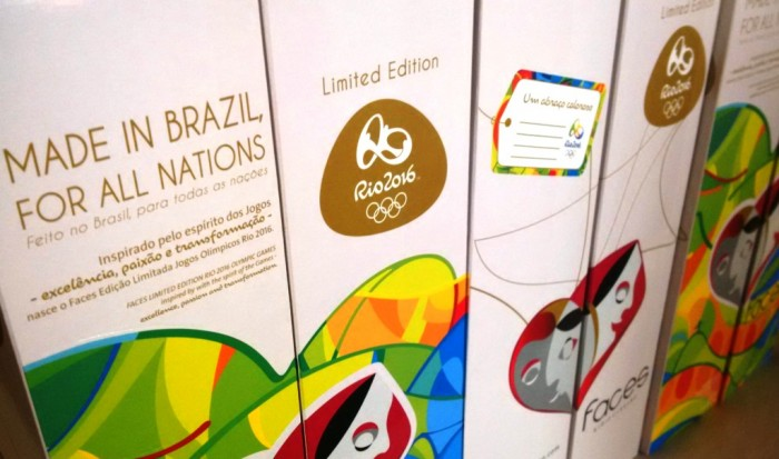 vini commissionati dal Comitato Olimpico Brasiliano