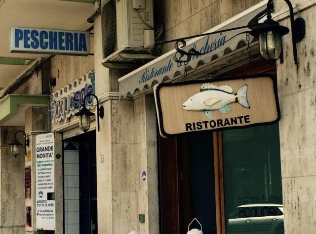 Acqua&Sale, ingresso