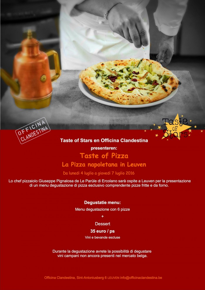 LOCANDINA TASTE OF PIZZA