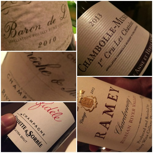 Le Bernardin, i vini
