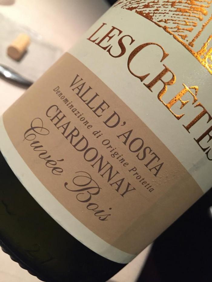 Les Cretes Chardonnay 2013
