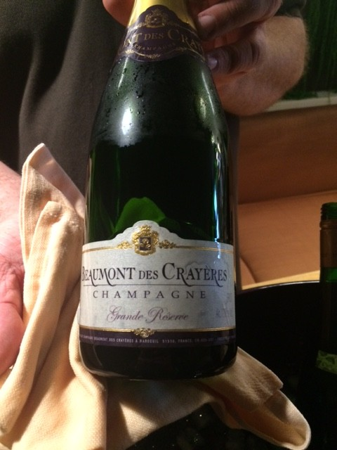 Lo Champagne di Pinot Munier Beaumont des Crayeres