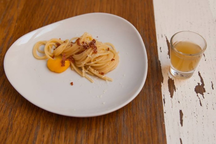 Massimo Sola_Mamo_Quasi Carbonara Spaghetti with Egg