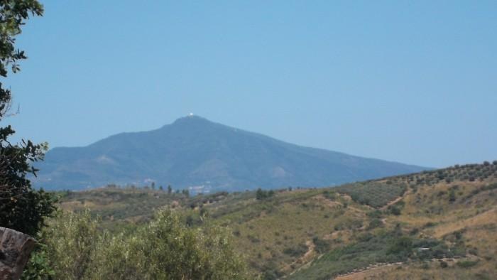 Monte Stella visto dall'azienda Ermma