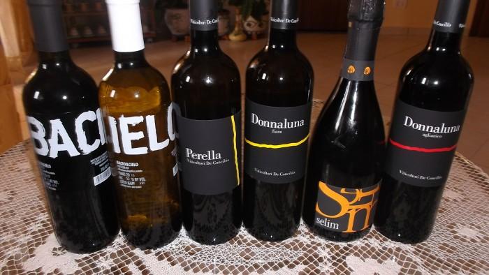 Nuove annate vini di De Conciliis