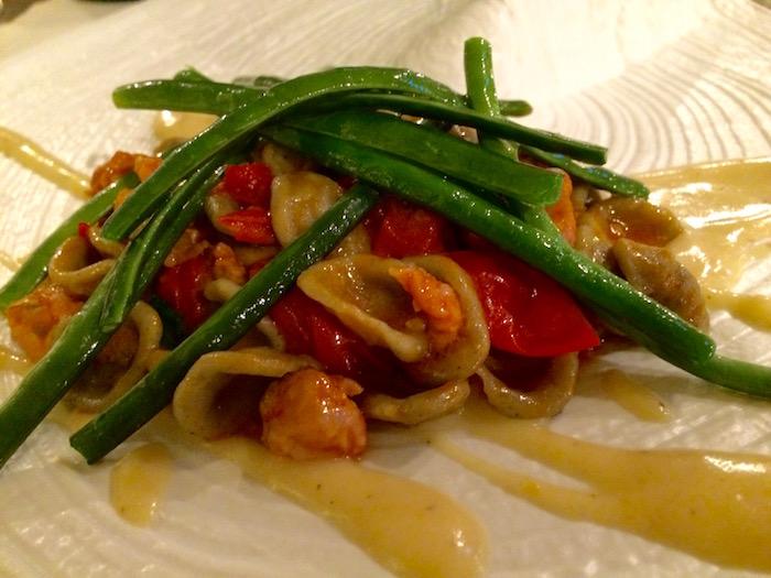 Brandi, Orecchiette con fagiolini e pomodorini
