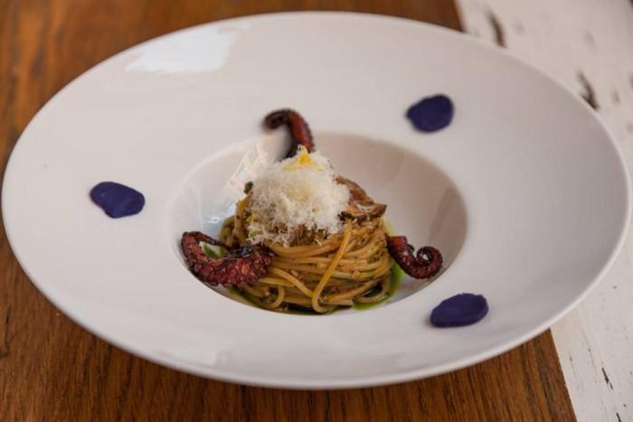 Pasquale Cozzolino_Ribalta_Zucchini Pesto and Octopus