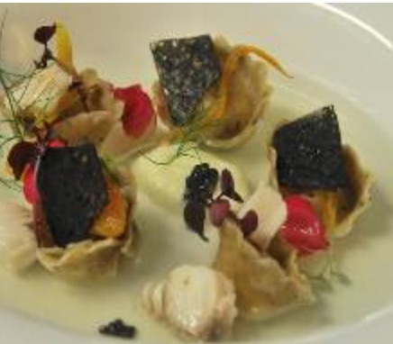Piatti gourmet in degustazione a Vinoforum