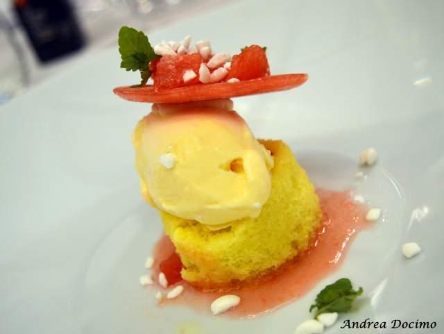 Piazzetta Milu Chef Experience con Sposito. Anguria e Delizia di Salomone