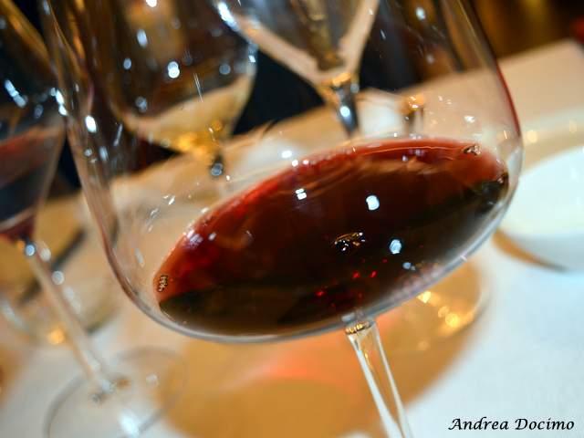 Piazzetta Milu Chef Experience con Sposito. Il quarto vino in abbinamento