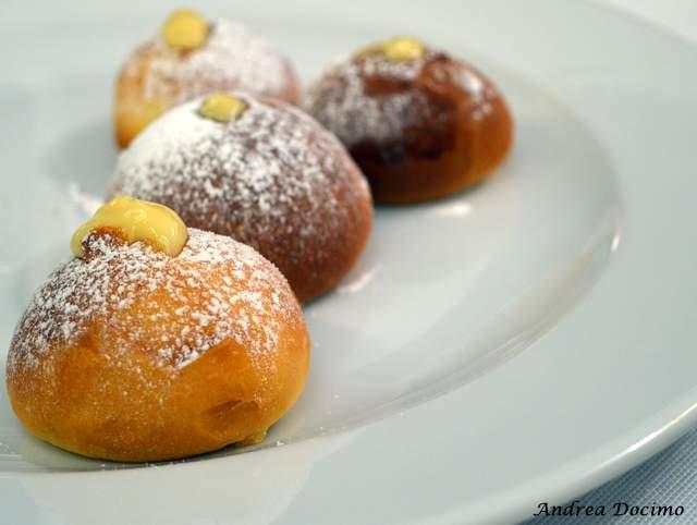 Piazzetta Milu Chef Experience con Sposito. Piccola pasticceria finale