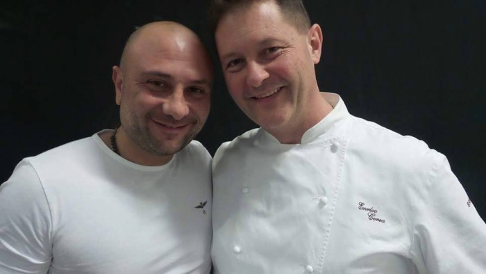 Giuseppe Pignalosa e Chicco Cerea