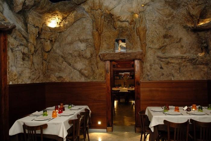 La storica pizzeria Negri , SALA GROTTA AZZURRA light