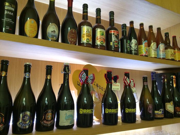 Pizzeria Vecchio Gazebo, Selezione di birre