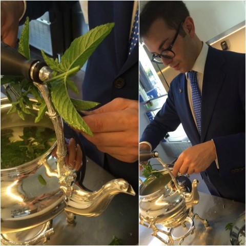 DANI Maison, preparazione del tea alla menta