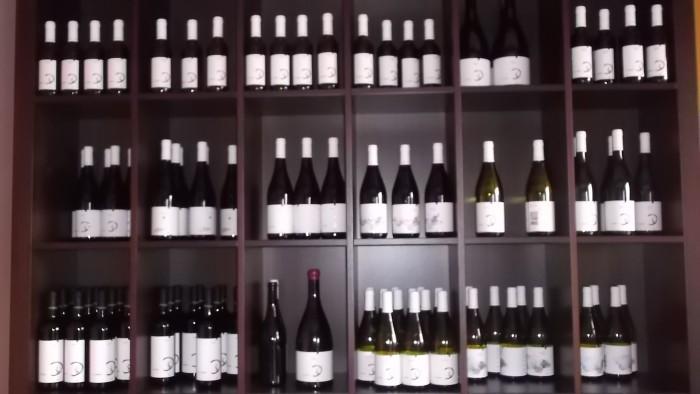 Vin di Cantine Barone in esposizione