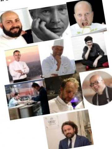 Volti degli chef protagonisti