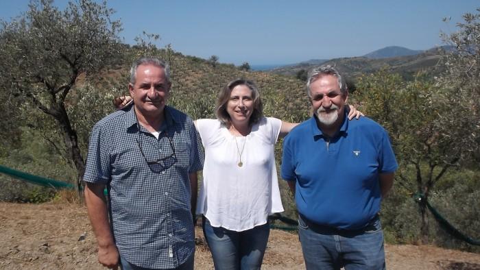 I Fratelli Aniello e Renato Sansone e Paola D'Ambrosio