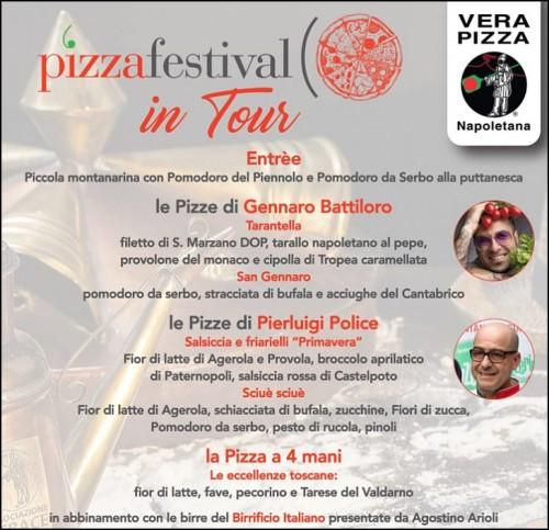 pizza Battiloro Police Scugnizzo Arezzo AVPN
