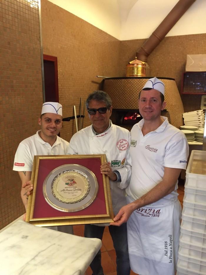 Salvatore Grasso della pizzeria Gorizia