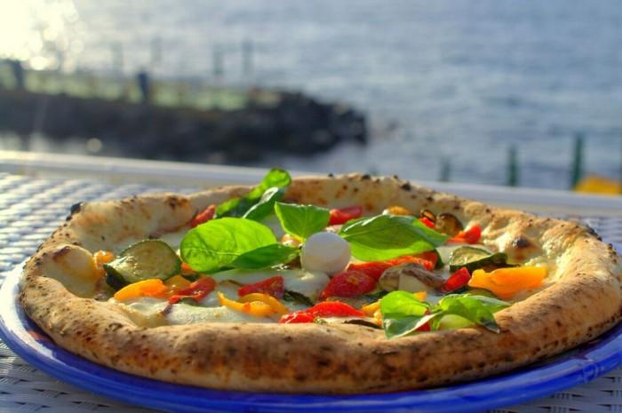 Pizza Nerano, l'omaggio di Antonino Esposito