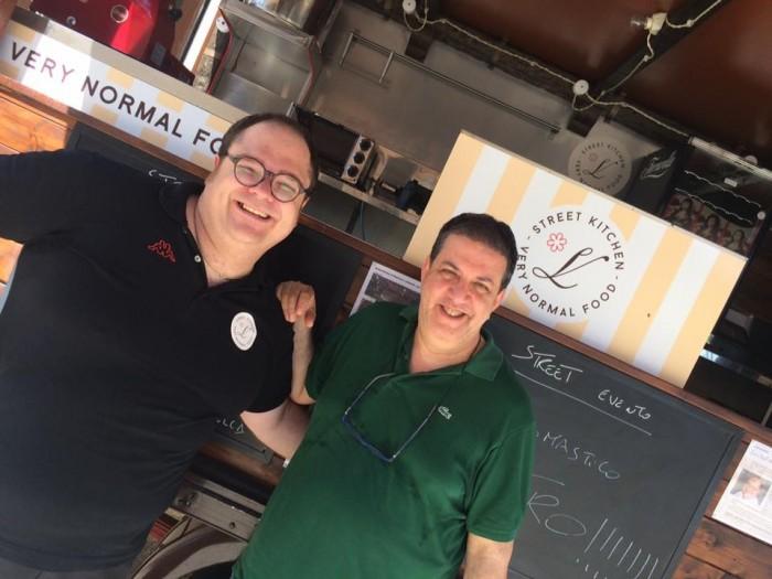 Vitantonio Lombardo e Luciano Pignataro