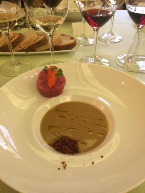 Zuppa fredda di fagioli