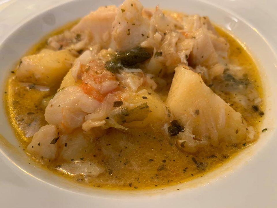 Ristorante Nunzia, baccala' e patate