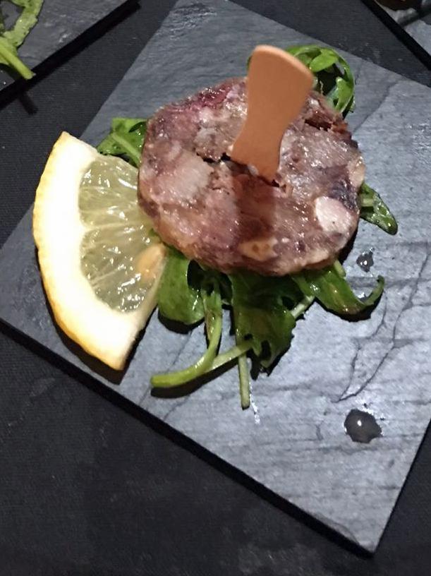 Agriturismo Don  Salvatore, coppa di maiale rucola e limone