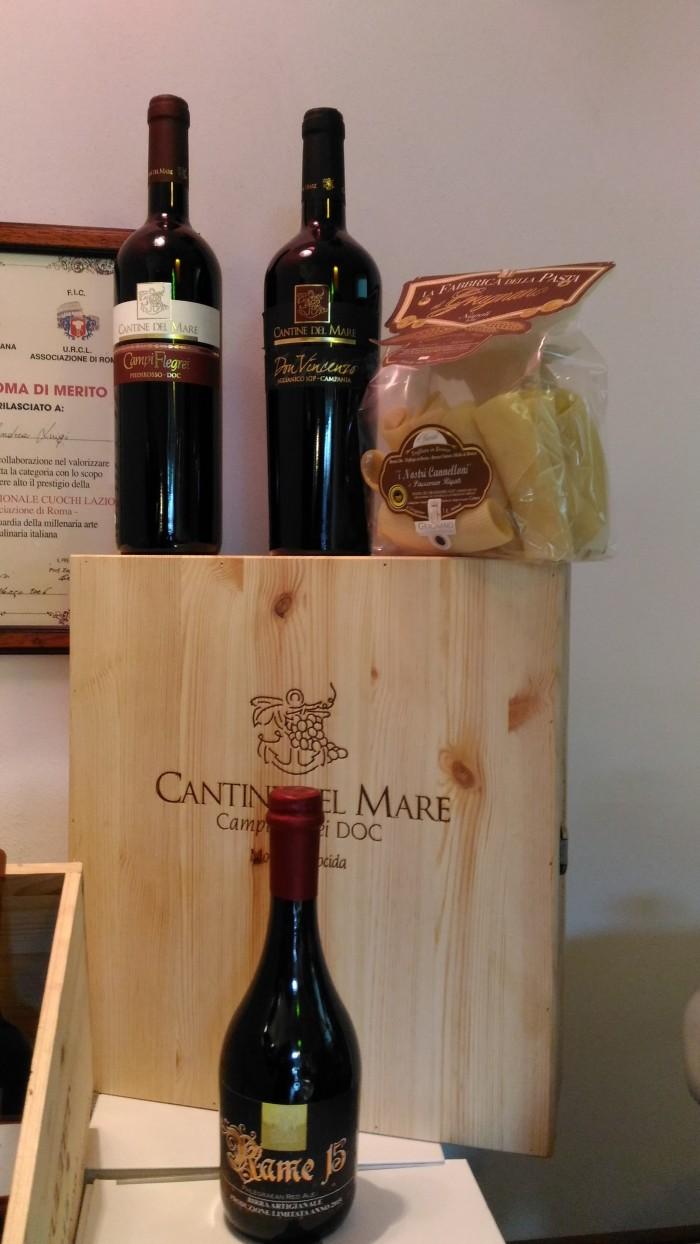 Agriturismo Don  Salvatore, i vini di Cantine del Mare e la Birra dei Campi Flegrei