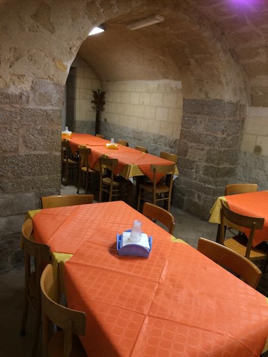 Ambienti interni al Grottino