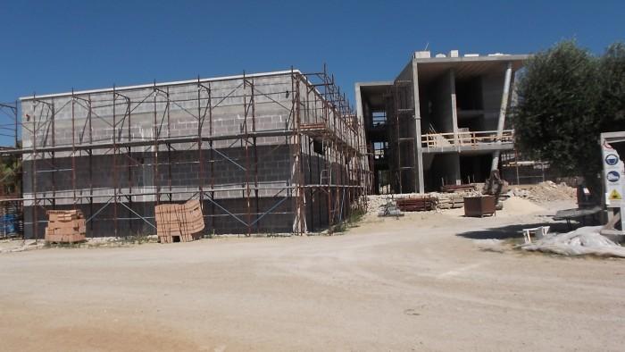 Cantina Coppola Nuova cantina in costruzione