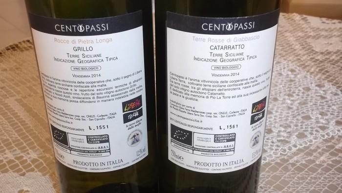 Controetichette vini di Centopassi