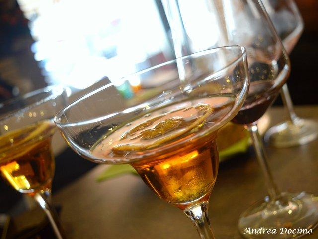 Da Gigione a Pomigliano. Il cocktail ROSSO BARRIQUE di Nino Siciliano
